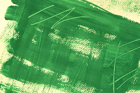 scratches: Hand painted  multi layered green background with scratches