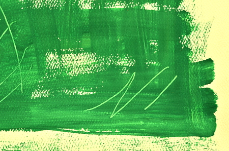 multi layered: Hand painted  multi layered green background with scratches