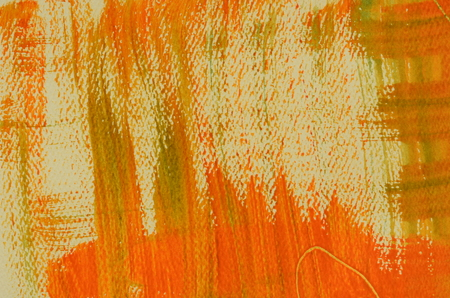 multilayered: Hand painted  multi-layered orange background with scratches