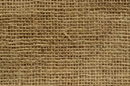 jute texture: Rough jute texture. Rustic background with fluff Stock Photo
