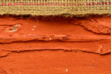 jute texture: Rough jute texture and embossed brown background. Rustic background with fluff