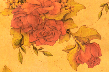 jacobean: Vintage Floral Grunge Tapestry Scrapbook Background. For scrap booking and design.