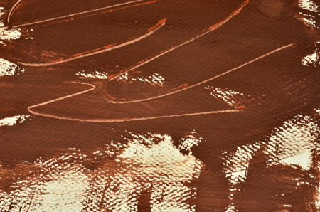 scratches: Hand painted multi-layered brown background with scratches