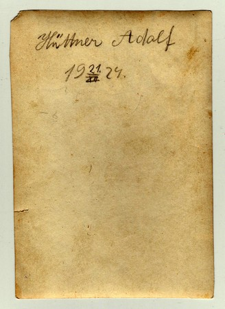 czechoslovak: THE CZECHOSLOVAK REPUBLIC, DECEMBER 21, 1924 : The back of photo with date, December 21, 1924.