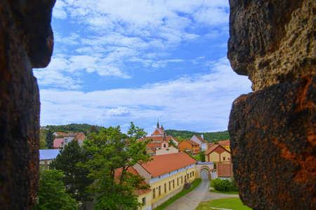 View of Moravian village, Dolni Kounice, Czechia