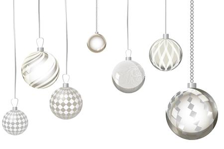 Résumé de fond de Noël doré PrintVector. Boule de noël neige Banque d'images - 82733472