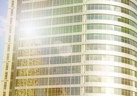 Gratte-ciel à Tel-Aviv, Israël. Fond de la ville moderne Corporation, tonifiant. Reflet. Technologie de finance d'entreprise. Banque d'images - 91344330