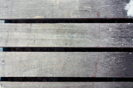 Le fond est une vieille planche de bois. la texture du tableau gris. Banque d'images - 91335397