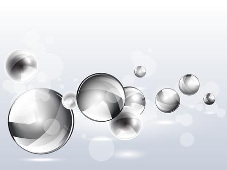 Conception futuriste de fond 3d vecteur géométrique multicolore. Boules graphiques colorées. Cercles de forme numérique abstraite. EPS 10. Fond de sphère moderne arc-en-ciel. Banque d'images - 92853810
