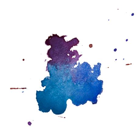 Texture de splash aquarelle multicolore Vector blots fond isolé. Blob dessiné à la main grunge, tache et gouttelettes. Effets de taches d'aquarelle. Couleurs saisonnières de printemps et d'hiver s'égoutte abstrait. Banque d'images - 92854003