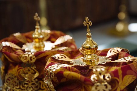 The Crown for a wedding in the Church.