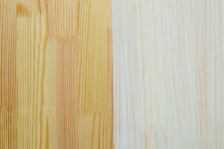 natural and tinted in white color wooden structure of laminated timber