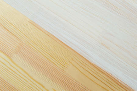 natural and tinted wood texture, coated with an environmentally friendly weatherproof white protective paint Stok Fotoğraf