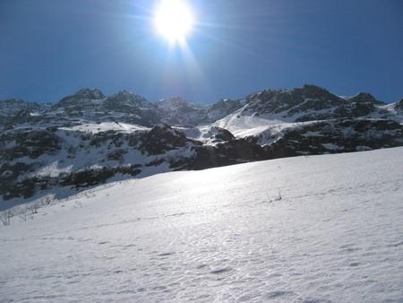 steep: steep snow slope