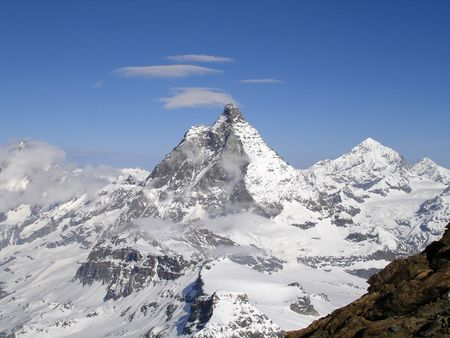 splendid: splendid mountain view Stock Photo