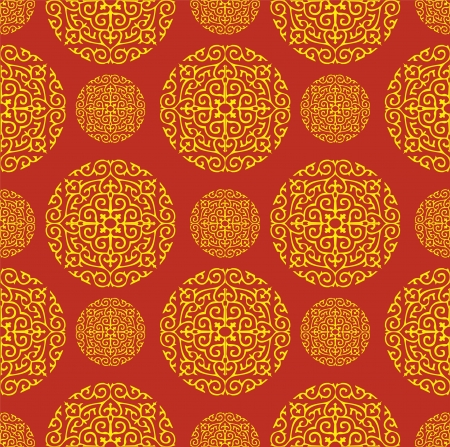 china art: Seamless vector of Classical Chinese Pattern.  Illustration
