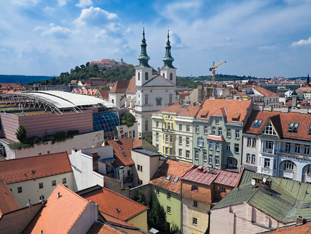 Brno old town Stock Photo