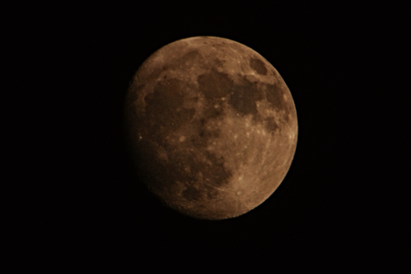 a watchman: Moon Stock Photo