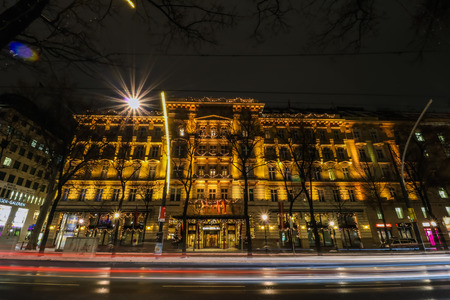 tramway: Grand Hotel Vienna