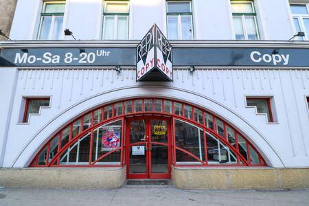 nodal: Rennweg - a district in downtown Vienna