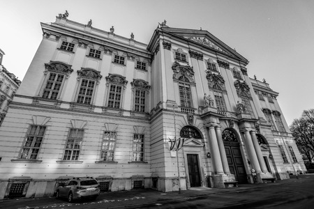 collegium: Palace Trautson in Vienna - Ministry of Justice Austria