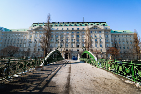 minister of war: Government Building with Federal Ministry in Vienna