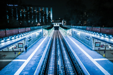 anton: City Park of Vienna - Subway Station