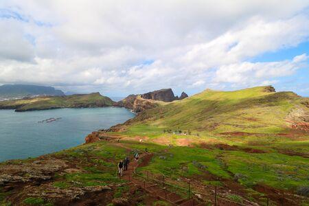Ponta de Sa o Lourenco Stock Photo