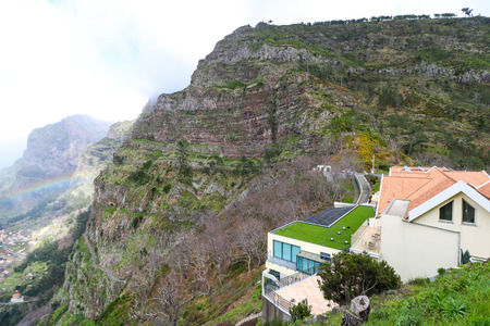 The Valley of the Nuns, Madeira, Portugal Editorial