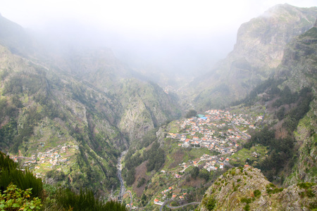 The Valley of the Nuns, Madeira, Portugal Stock Photo