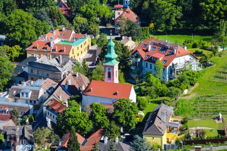 Kahlenbergerdorf, Vienna, Austria - A suburb on the periphery of Vienna Editorial