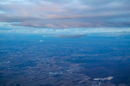 Flight from Funchal, Madeira to Vienna, Austria