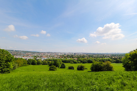 migrating: Roterberg - Red Hill, Vienna, Austria Stock Photo