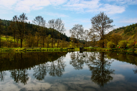 brine: Country and nature paradise Boskovice, Czech Republic