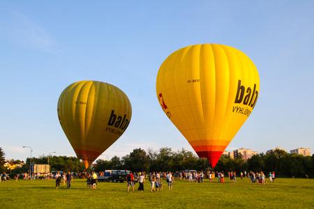 Hot air balloon meeting in Brno, Czech Republic Editorial