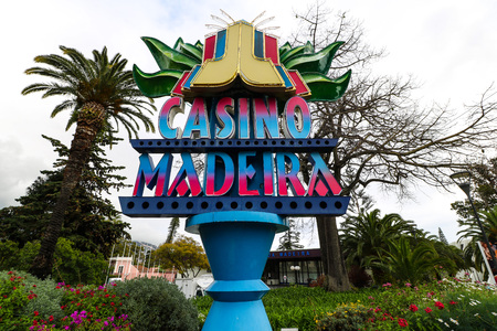 Casino Madeira in Funchal, Portugal Editorial