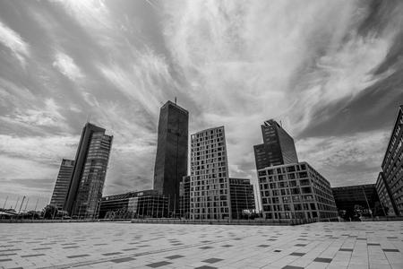 Danube City in Vienna, Austria Editorial
