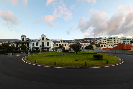 The old town Zona Velha of Funchal on the island of Madeira, Portugal Editorial