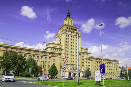 Hotel International in Prague, Czech Republic