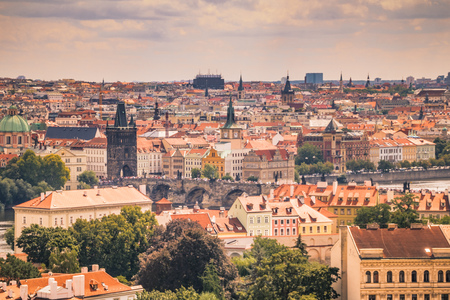 watermill: Old Town of Prague, Czech Republic Editorial