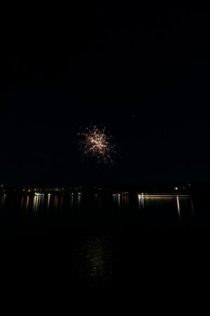 Firework Competition at sea, Brno, Czech Republic