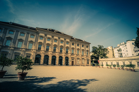 summerhouse: Palace of Liechtenstein in Vienna, Austria