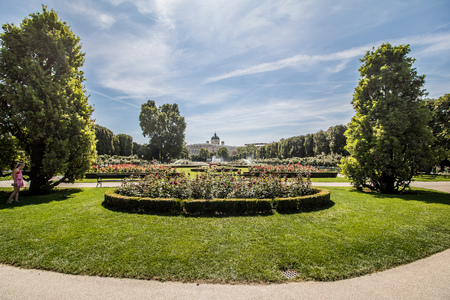 Peoples Garden � � �Volksgarten� �, Vienna, Austria