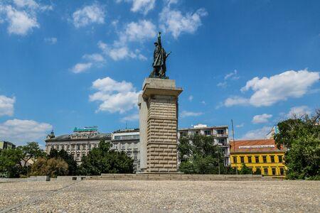 Moravské Nám?stí (Moravian Ring) in Brno, Czech Republic