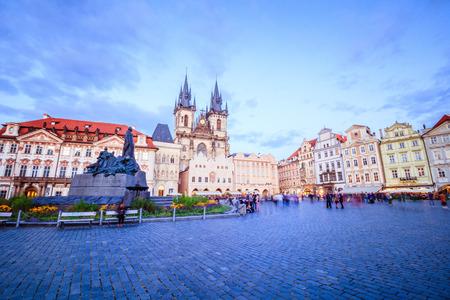 Old Town Square in Prague Czech Republic Editorial