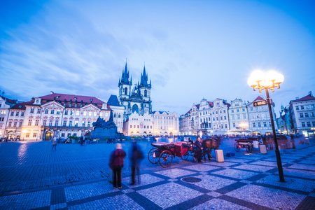 Old Town Square in Prague Czech Republic Sajtókép