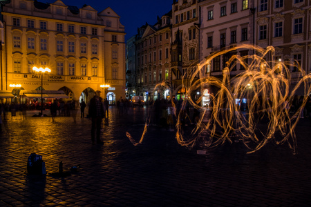 Old Town Square in Prague Czech Republic Editorial