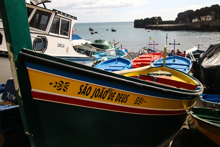 C? ? mara de Lobos on the south coast of Madeira Island, Portugal Editorial