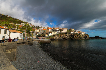 mara de Lobos on the south coast of Madeira Island, Portugal Editorial