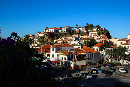 Camara de Lobos on the south coast of Madeira Island, Portugal